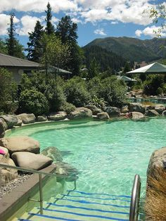 New Zealand Travel Inspiration - Hot natural spa in Hanmer Springs - South Island, New Zealand