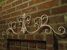 Shabby chic Paris chic swirls and Fleur de lis by shabbyhomesales, $31.00