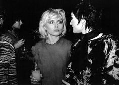 Debbie with Siouxsie Sioux