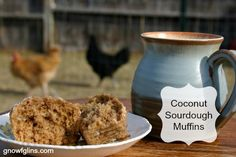 Erin's Coconut Sourdough Muffins | Oh, the joy that comes with bringing our dear ones delicious and nutritious treats! And on top of all this goodness, the recipe is highly adaptable. Curious how to make the muffin egg and dairy-free or as a simple soaked recipe? Read on, friends! | TraditionalCookingSchool.com