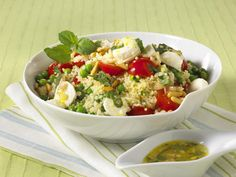 Gesundes Abendessen – 23 lecker-leichte Rezepte (Couscous Salat)