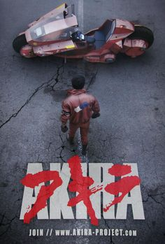 We're working on a live-action fan trailer based on Akira. Here's the poster. - Imgur