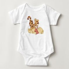 Shop Young Winnie the Pooh Baby Bodysuit created by winniethepooh. Personalize it with photos & text or purchase as is! Winnie The Pooh Themes, Winnie The Pooh Nursery, Disney Winnie The Pooh, Disney Nerd, Disney Disney, Disney Magic, Pooh Baby, Disney Babys, Disney Baby Rooms