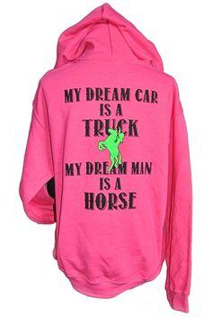 Dream Man Horse Hoodie