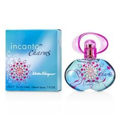 Incanto Charms Eau De Toilette Spray - 30ml-1oz. -A floral fruity fragrance for women-Sweet, fresh, sensual-Top notes of honeysuckle, passion fruit-Middle notes of Bulgarian rose, jasmine-Base notes are cedarwood, amberProduct Line: Incanto CharmsProduct Size: 30ml/1oz