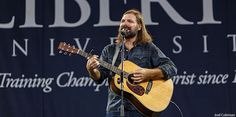 Mac Powell, lead singer of Third Day, performs one of his worship songs during Friday's Convocation. Description from liberty.edu. I searched for this on bing.com/images