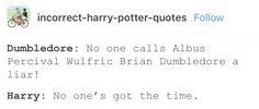 Harry Potter funny Albus dumbledore
