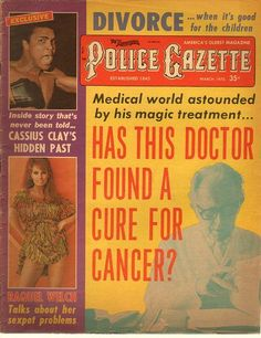 The National Police Gazette March 1973