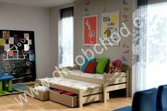 Dětská postel s přistýlkou Olek 2