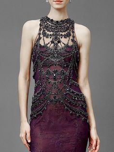 """themiseducationofb: """" """" People will stare. Make it worth their while → Marchesa 