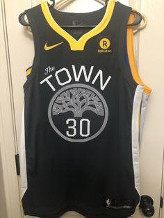 5ba1e227d347 Golden State Warriors Stephen Curry Nike Associate Authentic Jersey 44 Bnwt