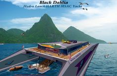 Matched-Speed Aircraft Carrier Yachts, super-Fast Luxury Power ...