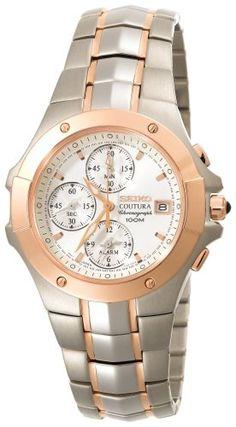 Seiko Men's SNAC40 Coutura Alarm Chronograph Watch Seiko http://www.amazon.com/dp/B001E1UMSY/ref=cm_sw_r_pi_dp_el3Ywb1C9V4JW