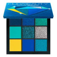 Buy Obsessions Precious Stones Eyeshadow Palette from Huda Beauty here. What it is: A range of compact eyeshadow palettes, expertly curated by Huda hersel. Huda Beauty Liquid Matte, Huda Beauty Eyeshadow, Eyeshadow Brushes, Beauty Makeup, Eyeshadows, Mac Lipsticks, Blending Eyeshadow, Blue Eyeshadow, Eyeshadow Palette