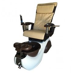 Diva 2 Spa Pedicure Chair - Durable fiberglass reinforced resin Single level hot/cold water control Pipe-less massage jet system Spa Pedicure Chairs, Pedicure Spa, Spa Chair, Massage Chair, Nail Salon Furniture, Spa Lighting, Foot Rest, Car Seats, Diva