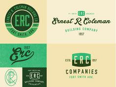 Options designed by Jeremy Teff. Connect with them on Dribbble; the global community for designers and creative professionals. Typography Logo, Logo Branding, Lettering, Outdoor Logos, Logo Sketches, Identity Design, Brand Identity, Professional Logo Design, Typographic Design