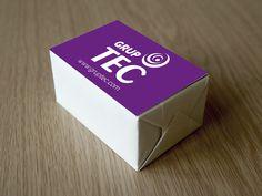 Diseño de logotipo y tarjetas para Grup Tec.
