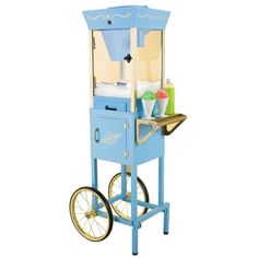 "OLD SHOPPING CARTS | ... Electrics Vintage 54"" Old Fashioned Snow Cone Cart - Giving Gallery"