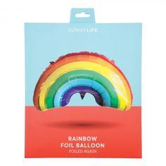 Sunnylife rainbow foil balloon