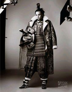 Miranda Kerr by Mario Testino for Vogue Japan November 2014 4