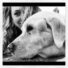 Lady friend.  desert time.  #luismyhomegirl #white #lab #polardog