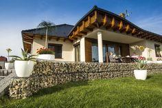 Mini Gabiony to ciekawy element małej architektury ogrodowej