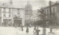 Market Square and Church Street - Dungannon