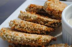 """Fried Pickles """"Tickled"""" with Secret Spice"""