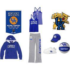 Kentucky Wildcats! Go Big Blue!
