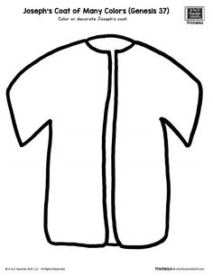 Joseph S Coat Of Many Colors Color By Number Coloring Pages Are A