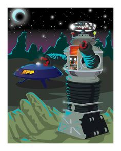"""Robot from """"Lost in Space"""""""