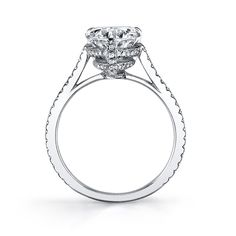Pear-Shaped Engagement Rings - Go to StellarPieces.com for even more stunning jewelry!
