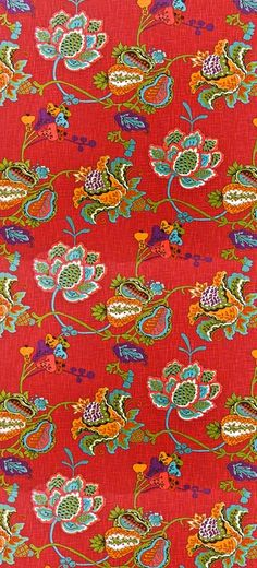 patterns.quenalbertini: Fabric design | coquita via housefabric.com