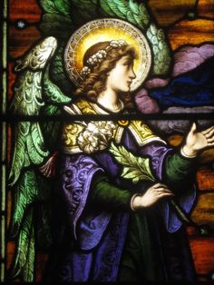 Image result for archangel uriel stained glass
