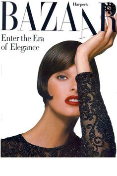 In honor of Linda Evangelista's birthday, we look back at her best BAZAAR covers.