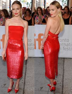 Kate Bosworth - Celebrity Style Week: Celebrity Style Fashion and Latest Trends Star Fashion, Girl Fashion, Kate Bosworth Style, Red Carpet Looks, Red Carpet Dresses, Celebs, Celebrities, Dream Dress, Strapless Dress Formal