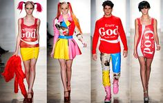 From Andy Warhol to…Jeremy Scott: The pop art revolution Pop Art Fashion, Tokyo Fashion, Colorful Fashion, Girl Fashion, Fashion Women, Jeremy Scott, Travel Clothes Women, Clothes For Women, A Level Art Sketchbook