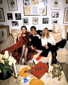 Loulou de la Falaise: The Real Deal With Saint Laurent and Catroux in 1978. Guy Marineau