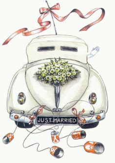Glückwünsche hochzeit Wedding Buying A Luxury Watch Seven Things You Should Consider Before Buying A Wedding Images, Wedding Cards, Wedding Gifts, Just Married Auto, Bunny Hat, Bird Embroidery, Car Illustration, Illustrations, Free Graphics