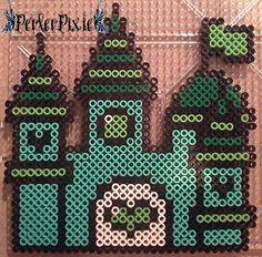 Green Princess Castle by PerlerPixie on DeviantArt