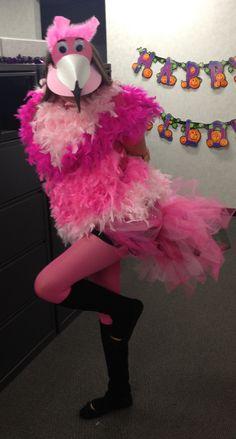 3a635005757 Homemade flamingo costume!! Flamingo Costume