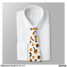Halloween Candy Neck Tie