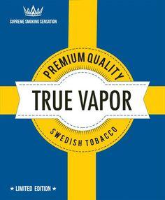 E-juice - Swedish Tobacco - Premium Quality http://www.minecigg.se