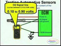 GM O2 Sensor Wiring Diagram Rough Schematic Engine