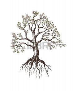 tattoo oak tree heart tree roots branches tree tattoo designs tattoos ...