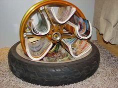 Porta revista reciclado | Flickr - Photo Sharing!