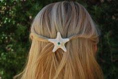 2pc Starfish Hair Accessory by TutuKanesInspiration on Etsy, $8.00