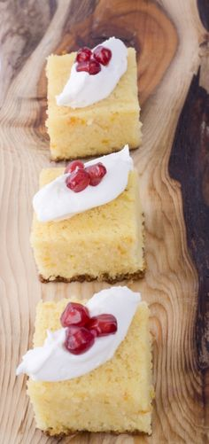 ravani Gluten Free Cakes, Greek Recipes, Cheesecake, Sweets, Dinner, Desserts, Food, Christmas, Dining