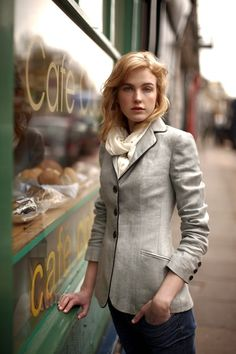 beautiful tailored jacket.