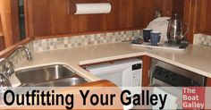 Outfitting your galley can be daunting.  What features should you look for in items to be used in a galley?  How do various items hold up in the real world?  And what DON't you need?  Find answers ...